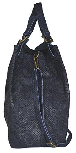 Lae In , Damen Tote-Tasche L marineblau