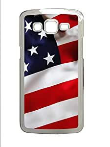 Samsung 2 7106 Case American United States Flags PC Custom Samsung 2 7106 Case Cover Transparent