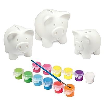 Galt Toys, Paint A Piggy Bank Set: Toys & Games