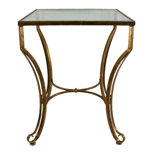 Brass Side Table (IMPORT Collection 60-870 Avalin)