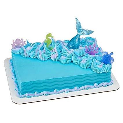 Amazon Mystical Mermaid Cake Decorating Set 1 Toys Games