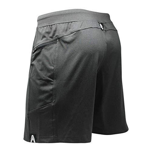 "Anthem Athletics Hyperflex 7"" Crossfit Workout Training Gym Shorts - Volcanic Black G2 - X-Large"