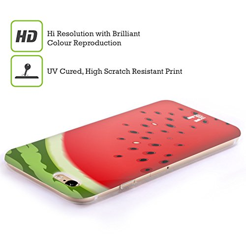 Head Case Designs Watermelon Fruity Soft Gel Back Case Cover for Apple iPhone 5c