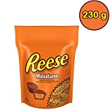 REESE Miniatures PEANUT BUTTER CUPS Candy, 230g