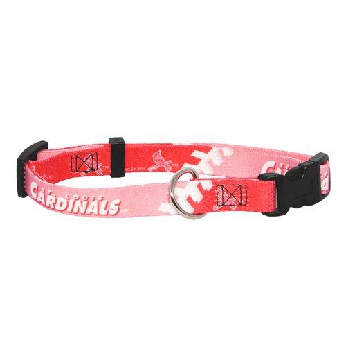 Hunter MFG St. Louis Cardinals Pink Dog Collar, Extra Small