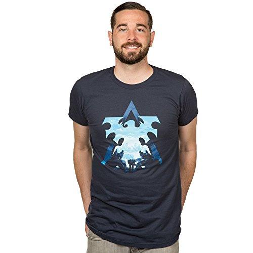 StarCraft II Terran Silhouette Men's Short Sleeve T-Shirt