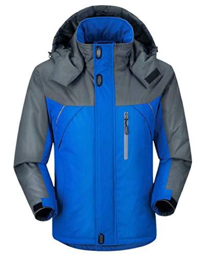 Alpinismo Uomini Giacca Sci Autunno Ttyllmao Da Degli Inverno All'aperto Blu qOtawF
