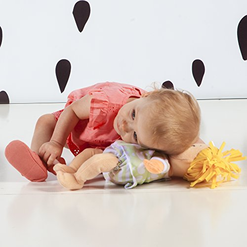 41tGDWrPbGL - Manhattan Toy Baby Stella Blonde Soft First Baby Doll for Ages 1 Year and Up, 15""