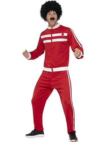 Scouser Tracksuit Red & White With Jacket And Trousers]()