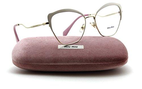 84948bf1370 Miu Miu MU 54PV Women Metal Cat Eye RX - able Eyeglasses - Import It All