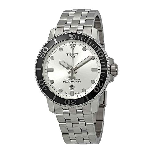 Tissot Seastar 1000 Automatic Silver Dial Mens Watch T120.407.11.031.00