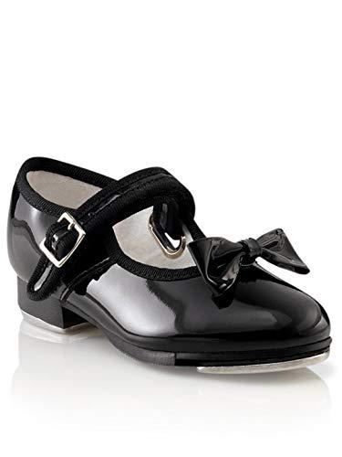 Capezio 3800 Mary Jane Tap Shoe (Little Kid/Big Kid),Black Patent,10.5 M US Little Kid