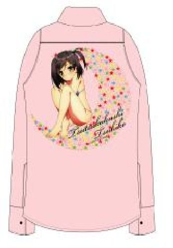 Cat not laugh and pervert prince. x pink shirt size Tsukiko hidden LIVERTINEAGE tube: M (japan import) by Chara-Ani
