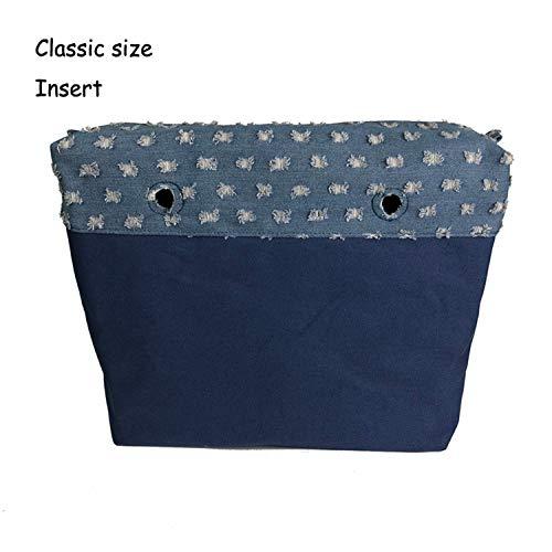Con Mini Mujer Bolsillo Clásico El Y Inserción Insert Type Asa Para Bolso Lona Constructs Interior 4 De 7ITqwOw
