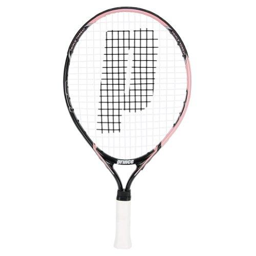 Prince Global Sports 19 Strung Junior Tennis Racquet, Pink by Prince Global Sports