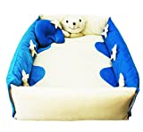 Amardeep Baby Bedding Set Cum Play Mat (Blue)