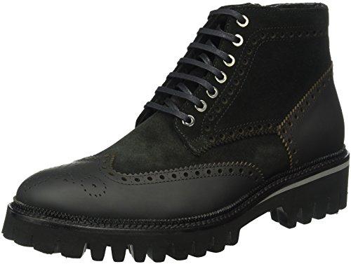 Stiefeletten Rangers Karl Herren amp; Homme Noir Boots 90 Noir Stiefel Lagerfeld fwqqUXtP