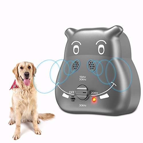 Nest 9 Anti Barking Device, 2020 Bark Control Device with 3 Adjustable Ultrasonic Volume Levels, Automatic Ultrasonic Dog Bark Deterrent for Small Medium Large Dog