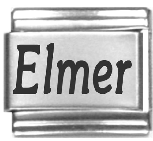 elmer-laser-name-italian-charm-link