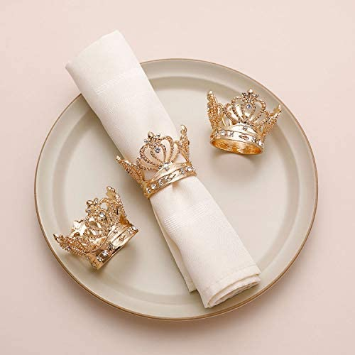AW Napkin Rhinestone Wedding Dinner