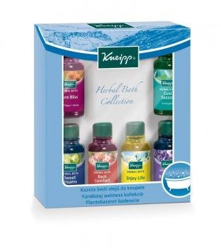 Kneipp 6 x 20ml Piece Bath Oil Herbal Bath Collection Inc Pure Bliss & Lavender HealthCentre GRA-KP038