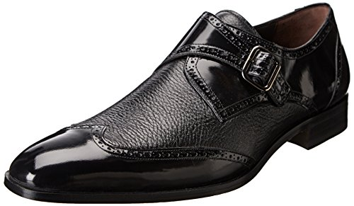 Mezlan Men's Senator Slip-On Loafer,Black,9.5 M US