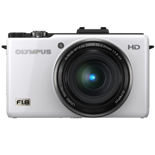 Olympus XZ-1 10 MP Digital Camera with f18 Lens and 3-Inch OLED Monitor