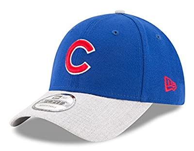 Chicago Cubs New Era Heathered The League Black Adjustable Hat/Cap from New Era
