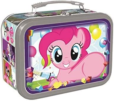 My Little Pony Lunch Box -- Deluxe Pinkie Pie Tin Lunchbox (My Little Pony School Supplies)