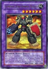 Yu-Gi-Oh! - Elemental Hero Rampart Blaster (EEN-EN033) - Elemental Energy - Unlimited Edition - Ultra Rare