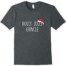 Holly Jolly Guncle Shirt, Cute Holiday Christmas Gift
