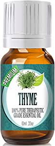 Thyme - (Premium) 100% Pure, Best Therapeutic Grade Essential Oil - 10ml