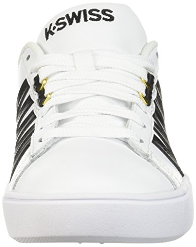 Black Women's Swiss Court White Sneaker CMF K Pershing Uzqqw