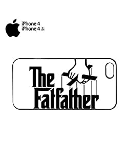The Fat Father Cool Mobile Cell Phone Case Cover iPhone 4&4s Black