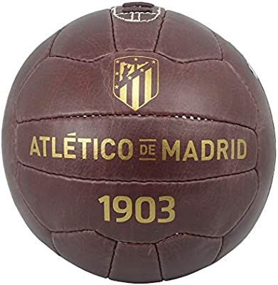 ATM ENTERPRISES Balón Histórico Retro Atlético de Madrid: Amazon ...