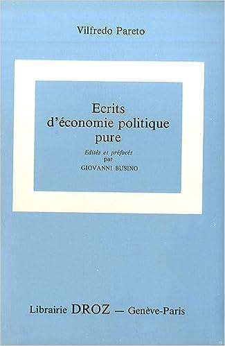 Lire Oeuvres complètes : Tome 26, Ecrits d'économie politique pure pdf epub
