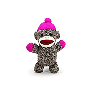 Plush Toys For Girls, Mittens From The Sock Monkey Family Stuffed Baby Plush Toys