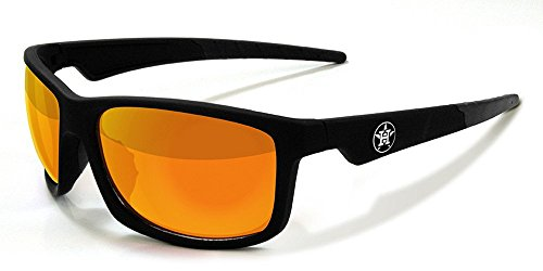Maxx Sunglasses Retro 2.0 MLB Houston Astros with Yellow Mirror HD Lens