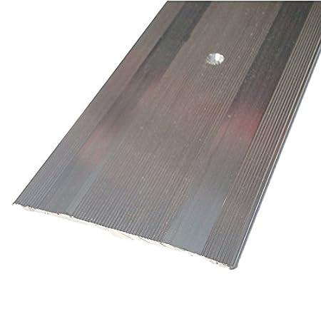 Aluminium Flat Cover Strip For Use With Laminate Flooring 10