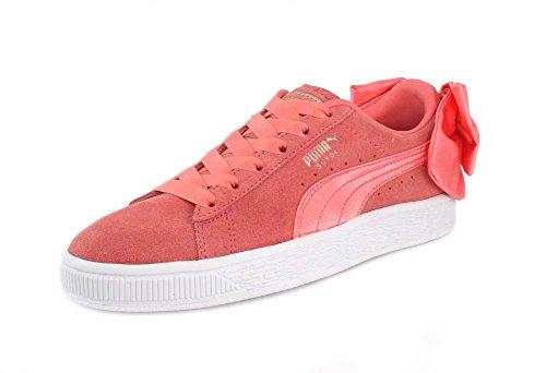 Puma Womens Sneaker Bow Wn Sneaker Shell Rosa-shell Rosa
