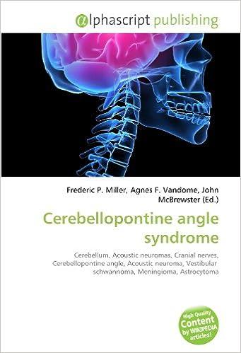 CEREBELLOPONTINE ANGLE SYNDROME DOWNLOAD