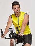 BALEAF Men's Sleeveless Cycling Shirt Road Bike