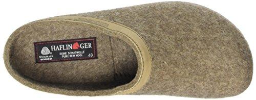 Haflinger 713001-550 Slippers, Filztoffel Grizzly Torben, torf, Gr 43 by Haflinger (Image #7)