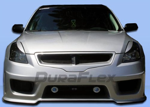 Duraflex Replacement for 2007-2009 Nissan Altima 4DR Sigma Front Bumper Cover - 1 Piece