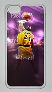 Kobe Bryant Custom PC Transparent Case for iPhone 5C by icasepersonalized by mcsharks