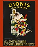 Dionis Gran Spumante by Leonetto Cappiello. Vintage Advertising Reproduction Print Poster (16 x 20)