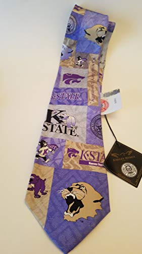 - Kansas State University K State Wildcats Exclusive Unique Silk Tie: 9 different Collage Pics! including Willie The Wildcat