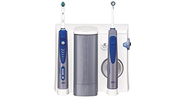 Oral-B ProfessionalCare 8500 Azul, Blanco - Cepillo de dientes eléctrico (Ni-MH, 2 pieza(s)): Amazon.es: Salud y cuidado personal