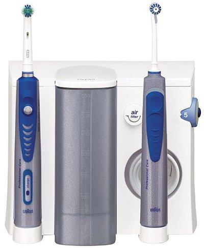 Oral-B ProfessionalCare 8500 Azul, Blanco - Cepillo de dientes eléctrico (Ni-