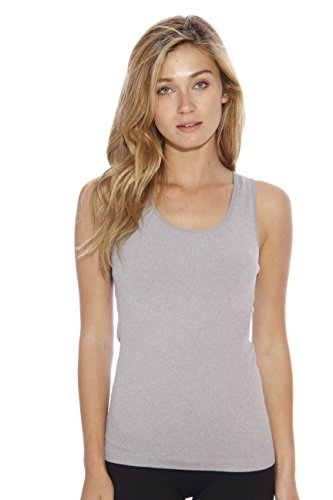CS32014-NEW-S/M-GRY Christian Siriano New York Tank Tops for (New York Womens Tank Top)